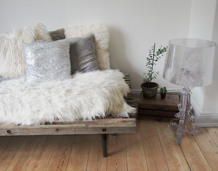 DIY tralleseng wooden bed