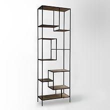 Modern Living Room Bookcases and Storage Shelves | west elm
