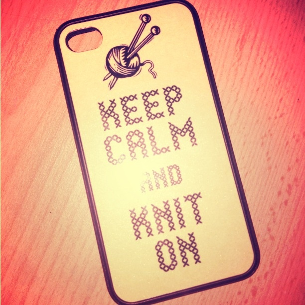 Keep Calm and Knit On:)
