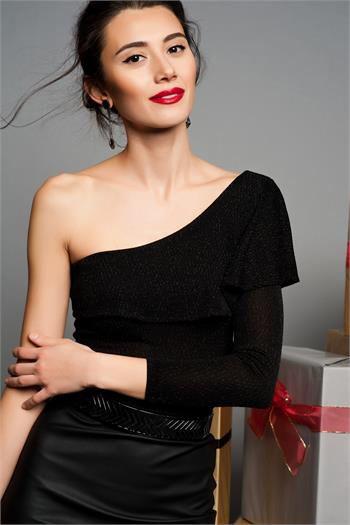 SİYAH BLUZ www.fashionturca.com