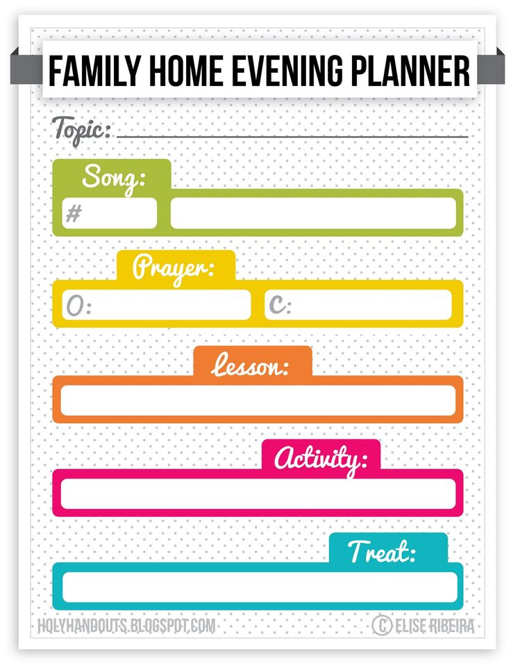 52 Best Family Home Evening Lessons Images On Pinterest | Church