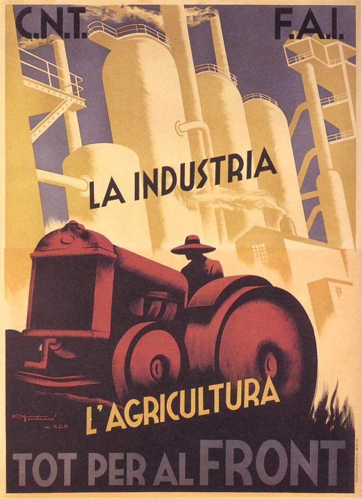 Tot per al front (Everything for the front) by Carles Fontserè, between 1936 and 1937. Contributor: Confederación Nacional del Trabajo-Federación Anarquista Ibérica.