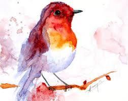 Resultado de imagen de watercolor illustration animals