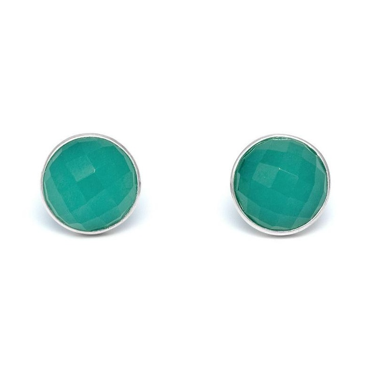 Lola Rose Susan Teal Quartzite Earrings at aquaruby.com