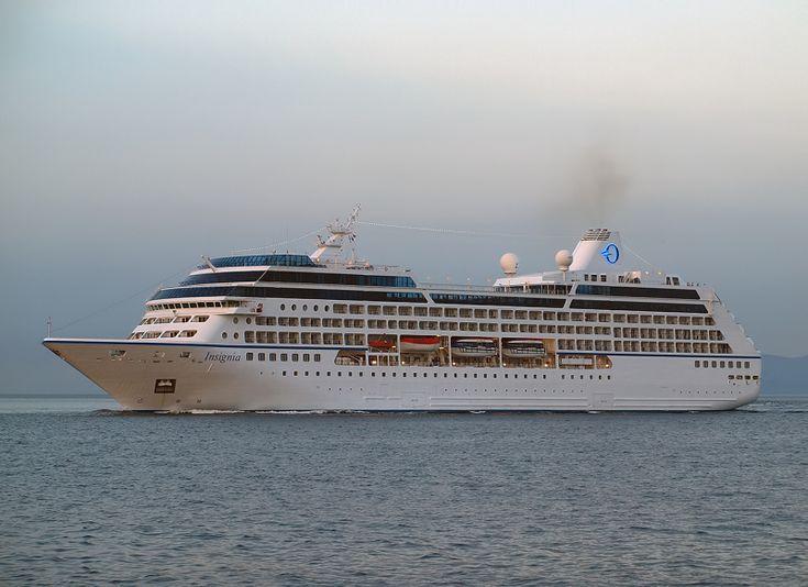 Το Insignia καταπλέει στον Πειραιά. 29/05/2014.