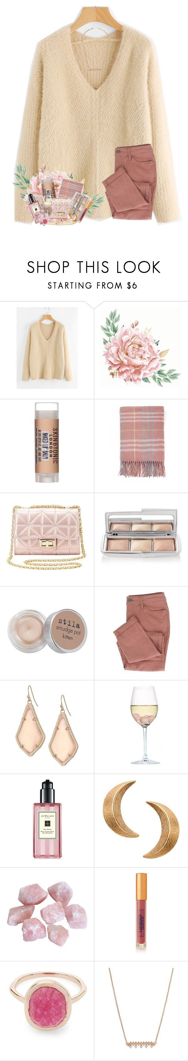 """time will tell"" by livnewell ❤ liked on Polyvore featuring Skin & Tonic, Charlotte Russe, Hourglass Cosmetics, Stila, Kendra Scott, RabLabs, Jo Malone, London Road, Lipstick Queen and Liberty"