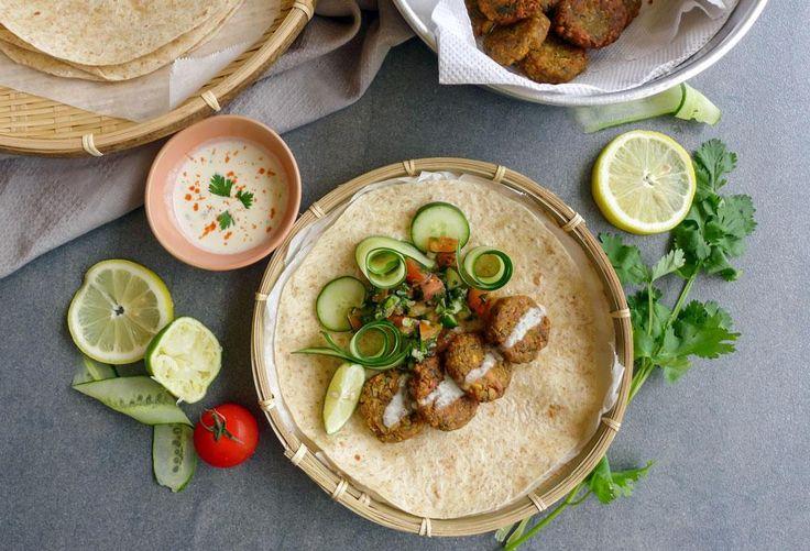 Essayez notre recette facile de falafels maison av...