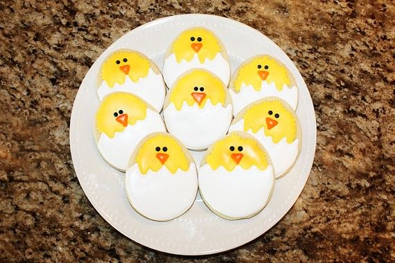 Chick+Cookies+by+DeliciousDozen+on+Etsy,+$24.00chck cookies