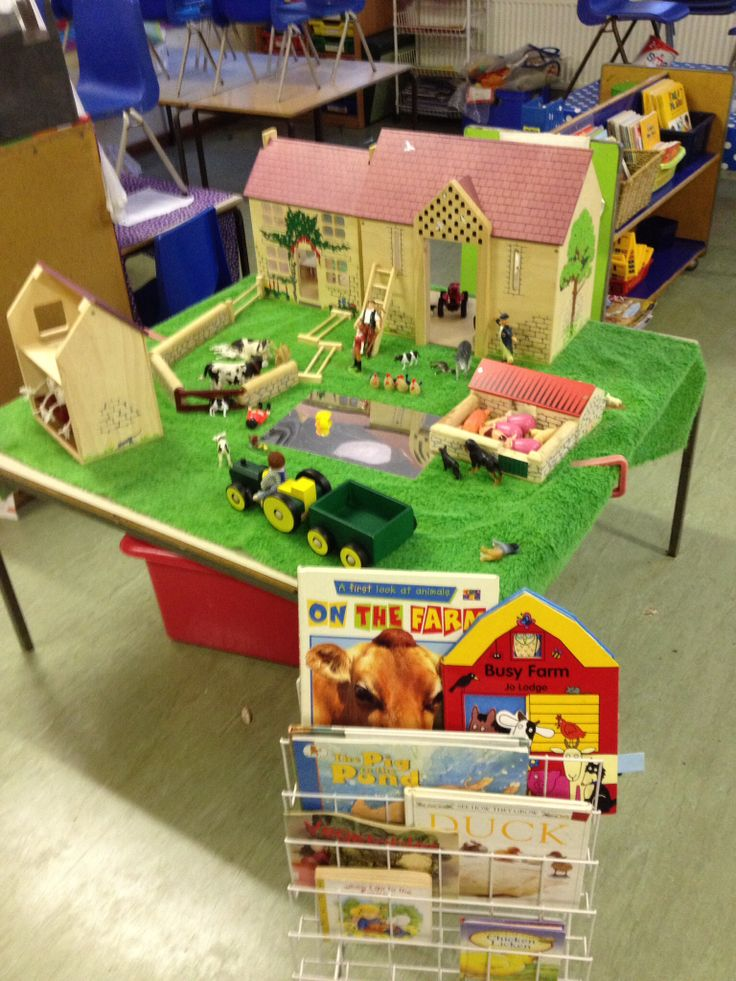 Farm small world from my reception classroom