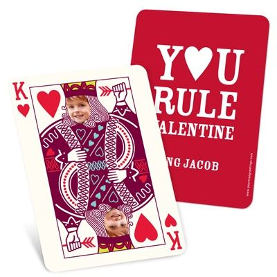 Photo Valentine's Card - Ruling King