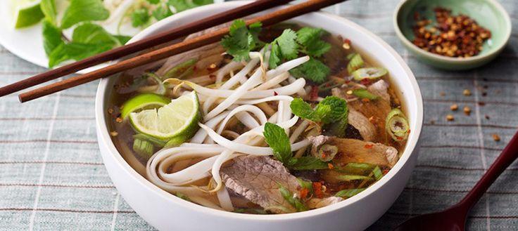 Receta de Pho Vietnamita