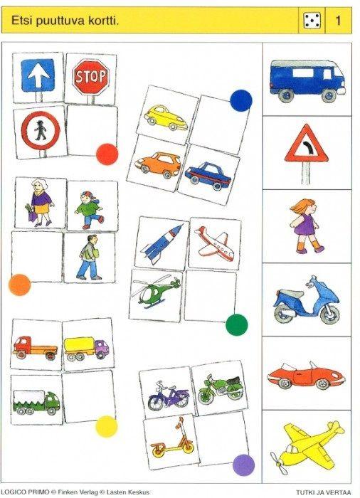 Piccolo: dobbelsteen kaart 1