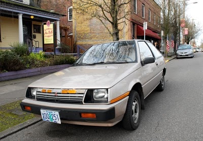 1985 Mitsubishi Mirage Hatchback