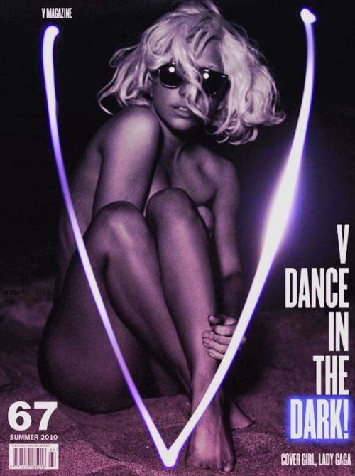 V Magazine, Summer 2010, Lady GaGa.