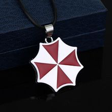 Free shipping Large Resident Evil Charm Umbrella Corporation Pendant