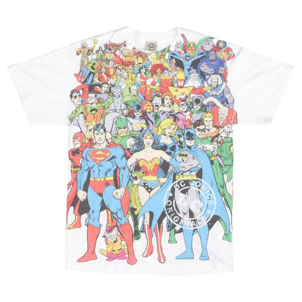 DC Comics Original Universe Tee (Love Wonder Woman!!)