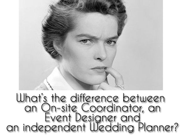 Wedding Coordinator vs. Planner vs. Designer: Whats the Difference?