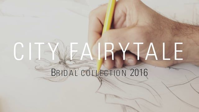 The SADONI story Bridal collection 2016 City Fairytale   www.sadoni.no