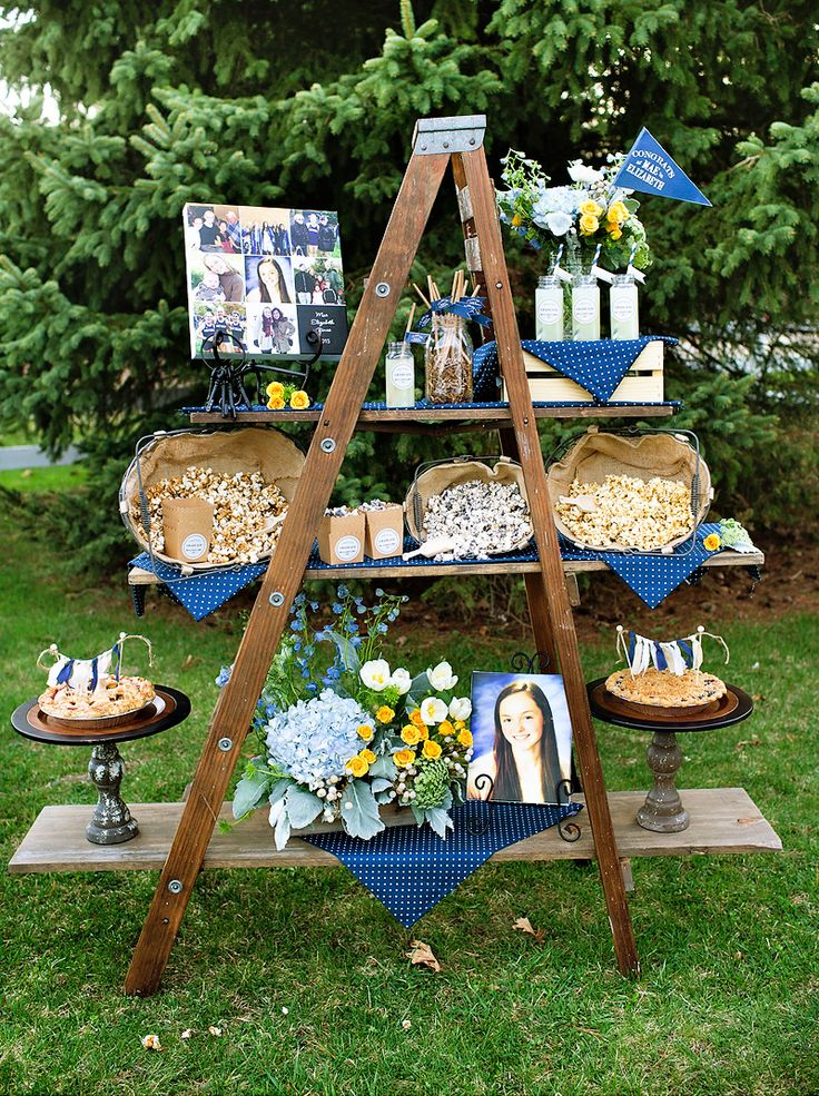 "Lovely & Rustic ""Keys to Success"" Graduation Party"