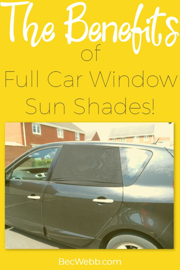 Review of Full Car Window Sun Shades pin