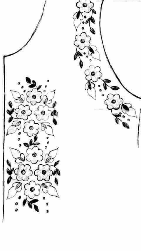 رشمات الطرز للصدر ودورة الكتف روعة rachmat tarz - مجلة أم عمران