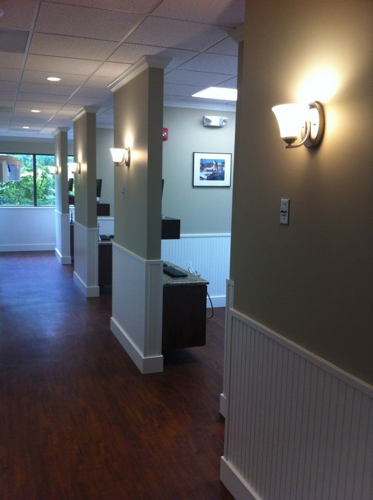 hallway design could remove all the doors an have one recessed sliding door for the dental office decordental office designchiropractic