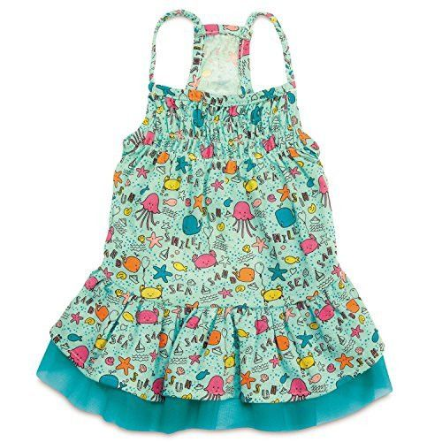 Zack & Zoey Sun and Sea UPF40 Dress for Dogs, Small, Blue