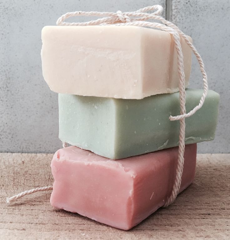 Handmade soaps made in Greece . Soaps in green pine tar , red jasmine and yellow lemon color . These greek products are made from my little soap shop with olive oil and aloe vera