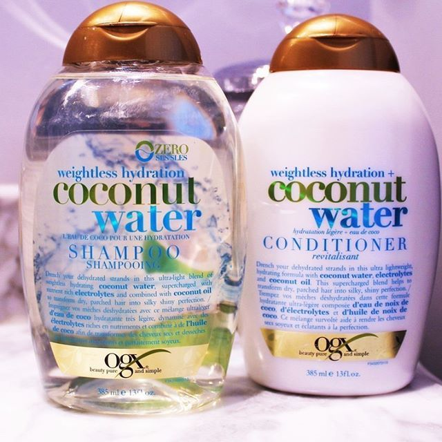 Find out why using a sulfate free shampoo, like OGX's Coconut Water, can totally change your hair and skin - blushandpearls.com.