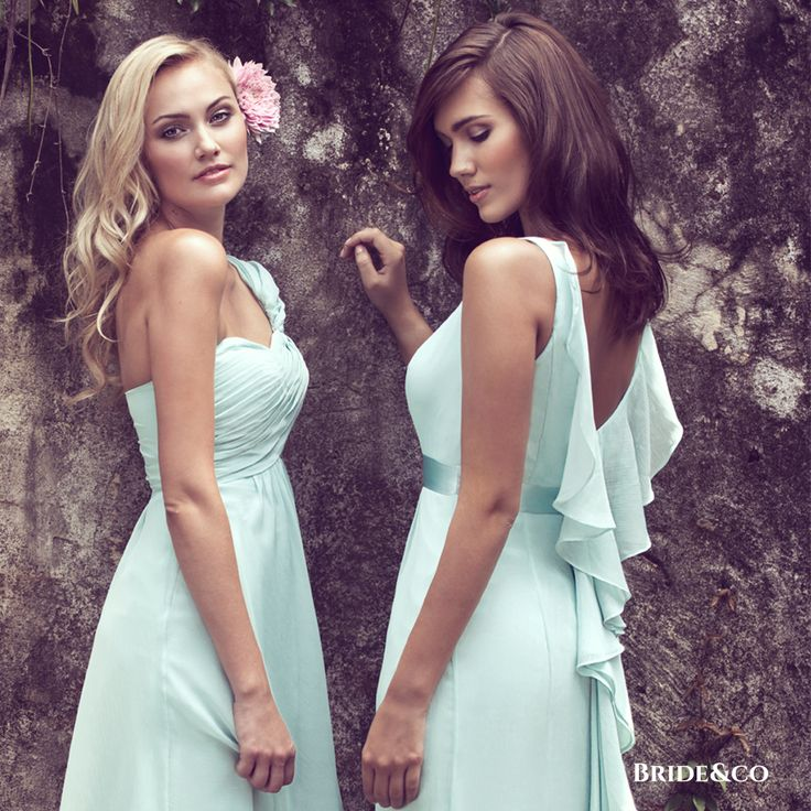 10 Styles - 30 Colours. Find a style you love, in a colour that complements your chosen colour scheme. Visit Bride&co to view our 10 styles available in 30 colour variations.   Click to book a free fitting with one of our Personal Style Consultants and find your dream #bridesmaids #dresses at Bride&co.   #love #girl #dresses #brideandco #bridesmaidsdresses #eveningdresses