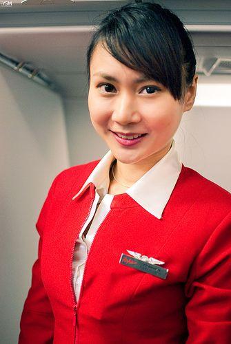 Airasia Stewardess Photo By Y Shumin Air Hostesses I
