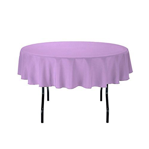 """Gee Di Moda Tablecloth - 70"""" Inch Round Tablecloths for C..."""