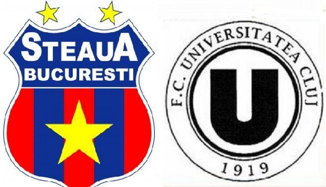 Steaua Bucuresti disputa astazi, de la ora 18:15, cea de-a doua restanta a sezonului in compania formatiei Universitatea Cluj. Campioana Romaniei, Steaua Bucuresti, are ocazia sa se distanteze astazi
