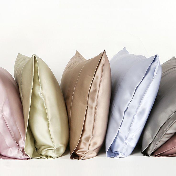22 Momme Silk Housewife Pillowcase Pillow Cases Silk