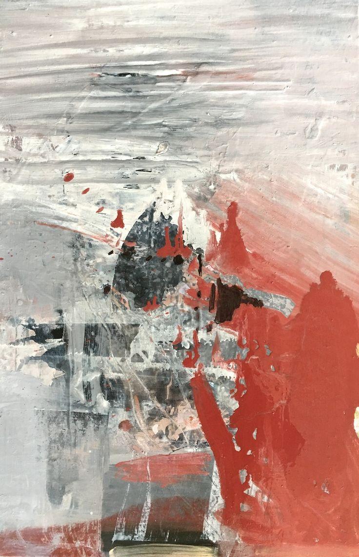 Elaine d'Esterre - Bleeding Sand at Mungo 3, 2017, oil on canvas, 92x64 cm.  Art blog at http://elainedesterreart.com/ also http://instagram.com/desterreart/ and www.facebook.com/elainedesterreart/