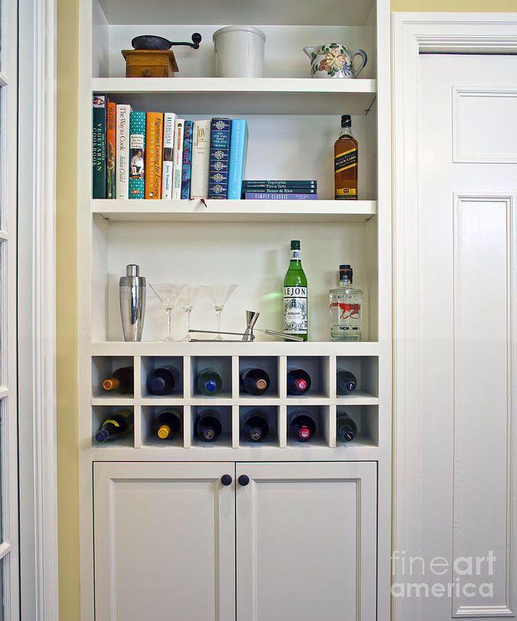 Best 25+ Wine rack cabinet ideas on Pinterest | Built in ...
