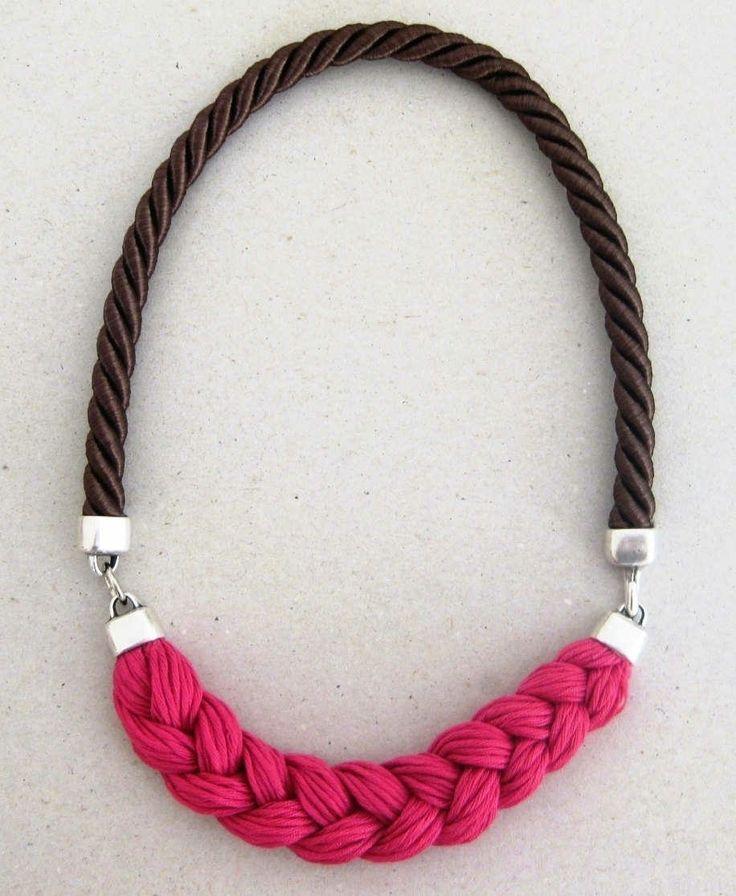 """Fun & Fashionable"" Braid Necklace"