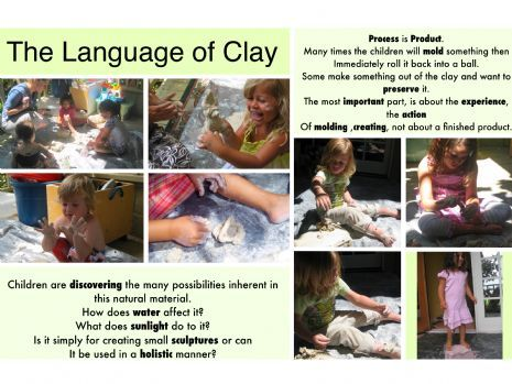 The language of clay. For more Play pins visit: http://pinterest.com/kinderooacademy/learning-through-play/ ≈ ≈