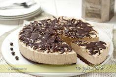 Cheesecake al caffè, ricetta senza cottura   Ho Voglia di Dolce