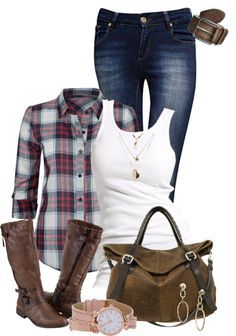 Love this outfit for fall. Especially love the watch!