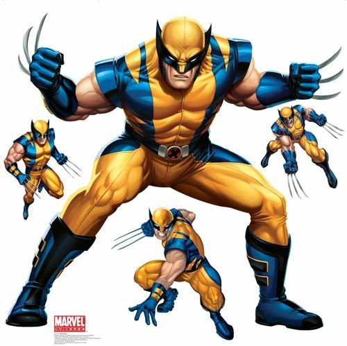 4X4 Wolverine - Marvel Wall Decor