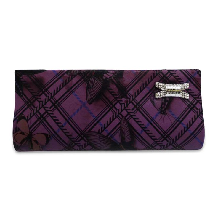 Beautiful faux leather fabric woman clutch purse /handbag ..this is img