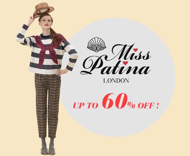 テイラースウィフトも愛用☆ ロンドン発の人気ブランド Miss Patina/ミス・パティーナ 最大60%OFF!