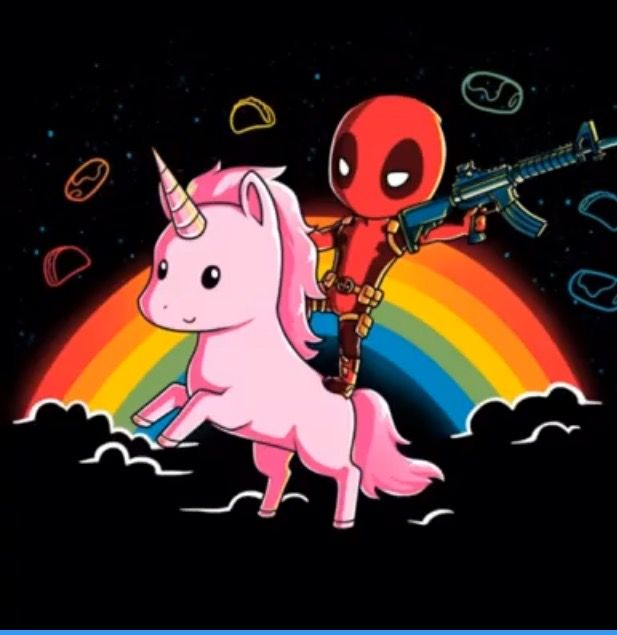 Deadpool and UNICORNS!