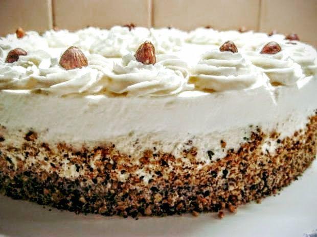 Upečte si tortu plnú orechov. Recept s fotopostupom.