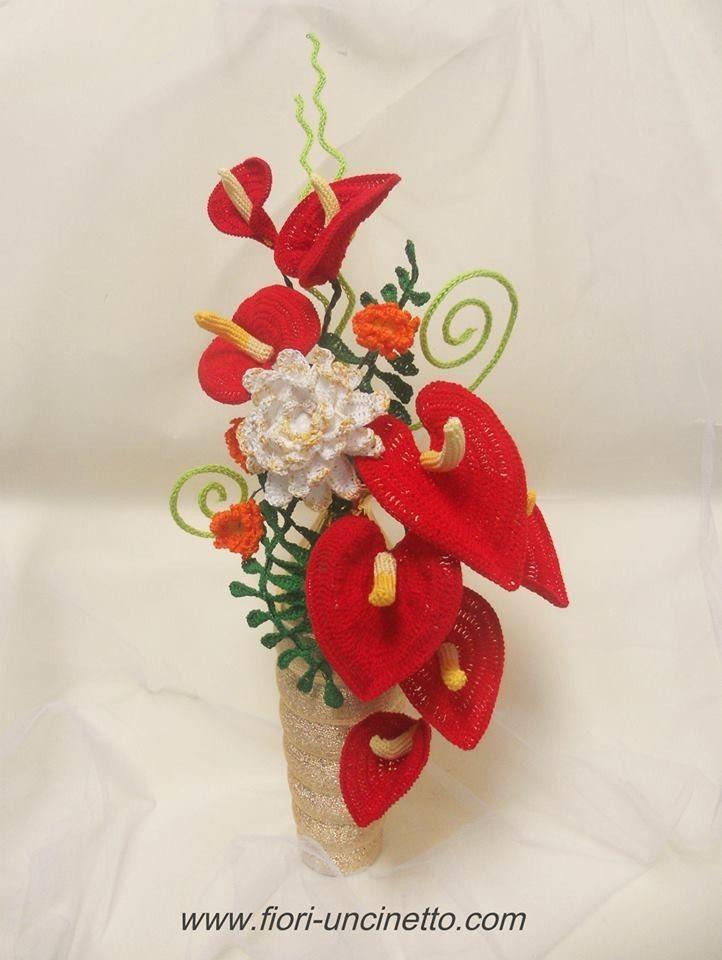 Fiori all'Uncinetto - Crochet Flowers