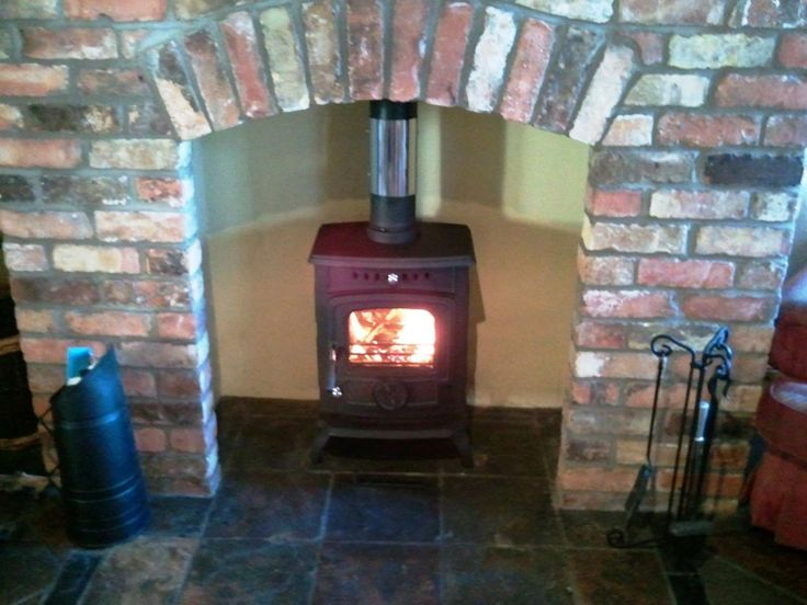 Olymberyl Gabriel Multi Fuel Stove  in Matt Black