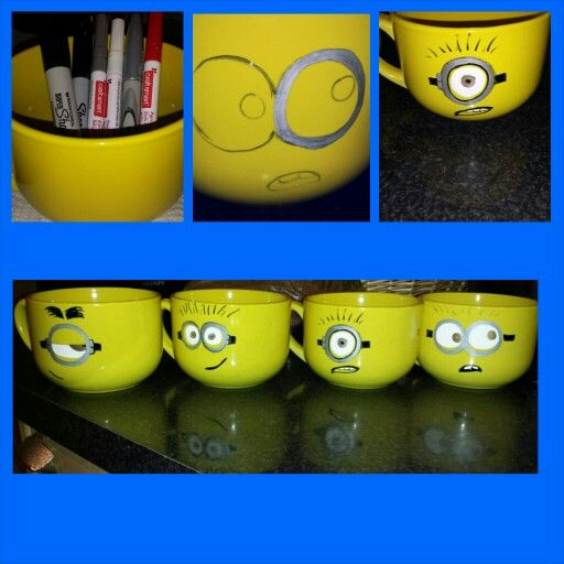 DIY end of year teacher gifts. Wrote on the back :Thanks a minion (teacher name)