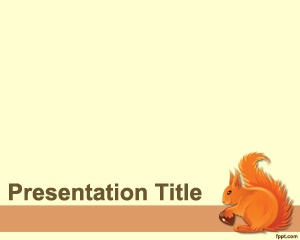 73 best animal powerpoint templates images on pinterest ppt squirrel powerpoint template is a free light template with squirrel presentation background in the slide design toneelgroepblik Gallery