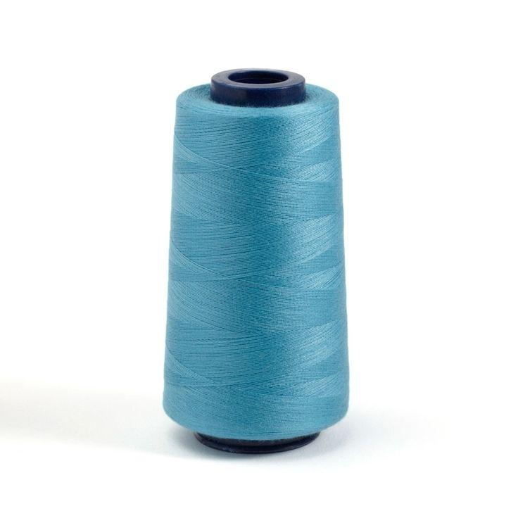Cône de fil pour machine 2743m - bleu  - Mondial Tissus